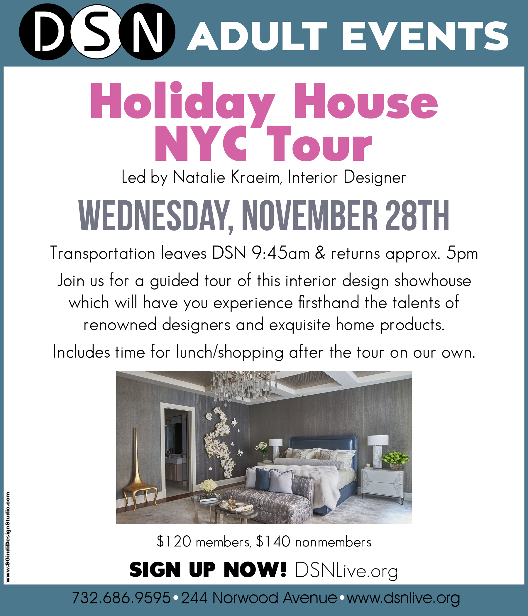 Dsn Adults Holiday House Nyc Tour Dsn Community Center